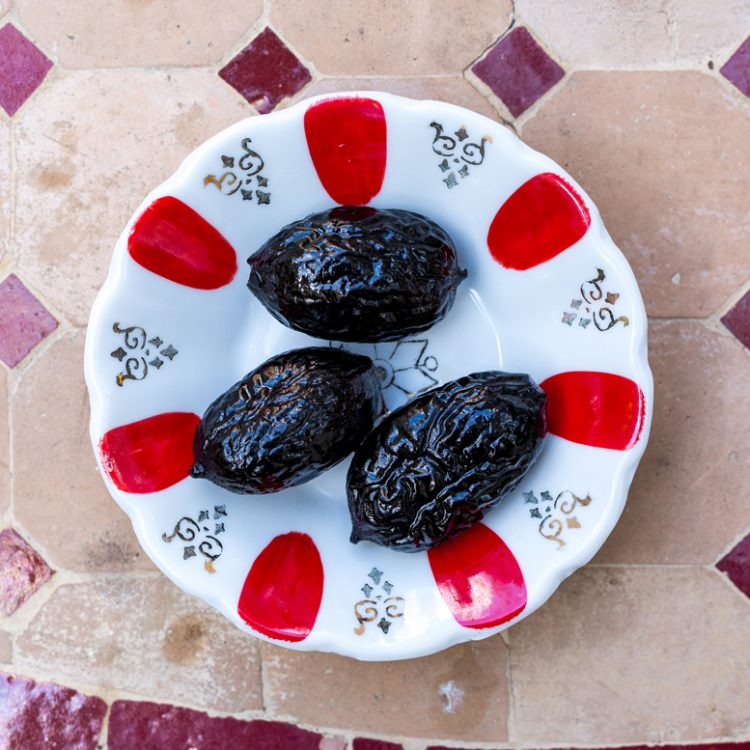 Gekonfijte walnoten eet!verleden