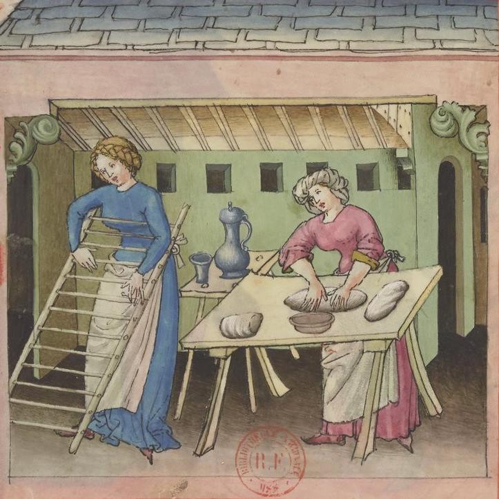 Tacuinum sanitatis, pasta maken