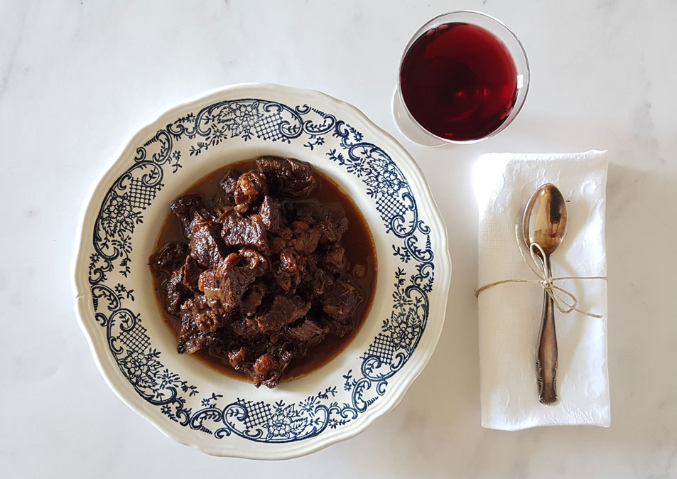 Florentijnse vleesschotel